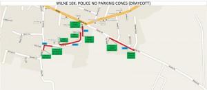 Police No Parking Cones - Draycott